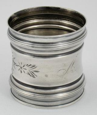 Lovely Engraved Gorham Sterling Napkin Ring