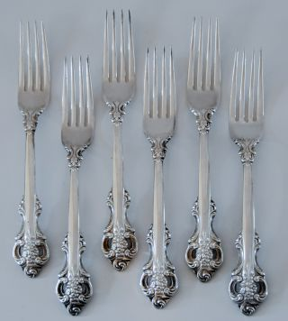 Towle Silverplate Dinner Forks photo
