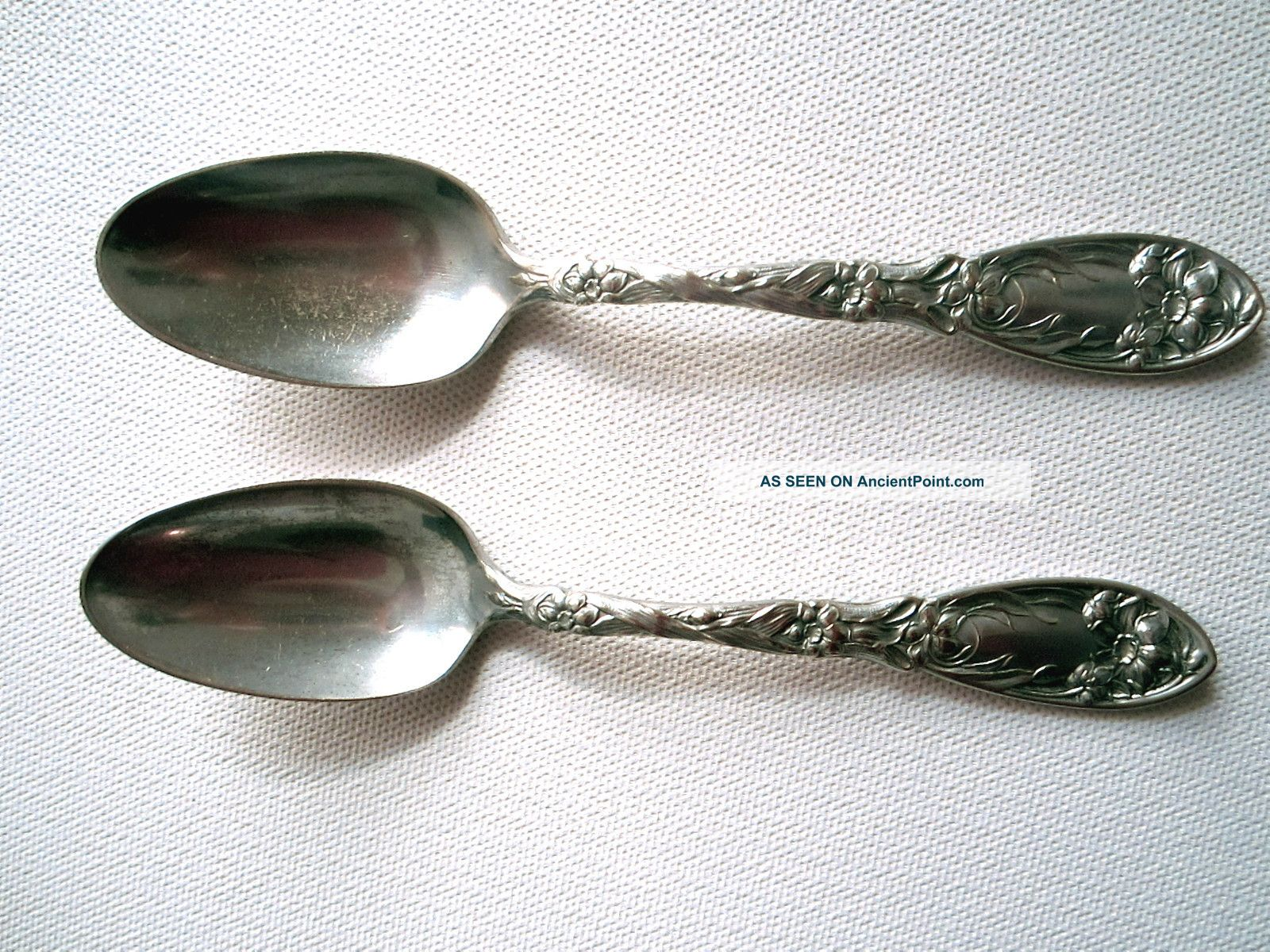 Oxford Narcissus Silverplate Teaspoons Other photo
