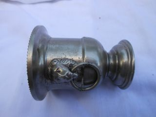 Vintage Silverplate Cup photo