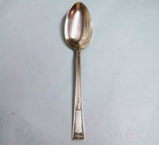 Buckingham Serve Spoon - Classic 1924 Wallace - - Clean & Table Ready photo
