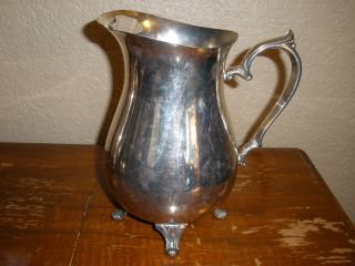 Silver Plated Pitcher By L.  S.  Co. photo