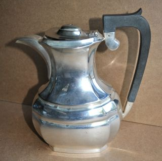Vintage Estate Sale Made In England Silver Plated Coffee Pot Server photo
