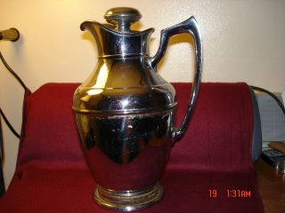 Antique Stanley Ferrostat Metal Pitcher Rare photo