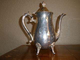 Silver Plated Hong Kong Pitcher photo