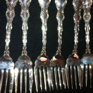 Vintage Birks Silver Forks photo