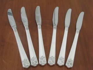 Aprilwm Rogers International 6 Grille Knives photo