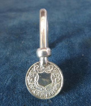 Vintage Silver Plated Napkin Clip photo