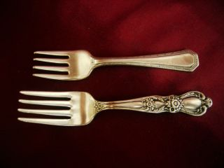 Baby Forks: Wallace 1835,  Rogers 1847 photo