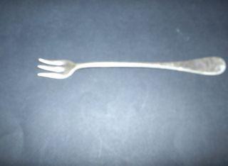 Vintage Amster - Kirtz Hotel Plate 3 Prong Pickle Fork 6 - 1/4