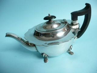 Art Deco Silver Plated Teapot. . . . . . . . . . . . . . . . . . . . . . . . . . . . . . . . .  Ref.  3418 photo