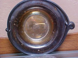 Vintage Rogers Silverplate 1941 - 1966 25 Years In Texas Union Carbide Candy Dish photo
