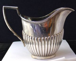 Antique Epbm Silver Plated Milk Cream Gravy Water Serving Jug - 4066 photo