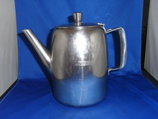Bea British European Airways 3 Pint Old Hall Tea Pot Robert Welch Stainless photo