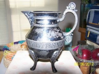 Sterling Silver Small Pitcher photo