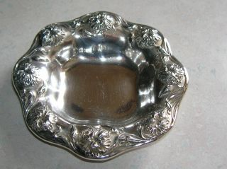 Edwardian Superior Silver Co Silverplated Small But Dish Ca 1900 - 1910 photo