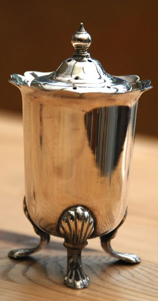 Silver Plate Salt Cellar photo
