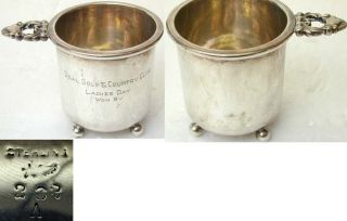 Small Sterling Silver Golf Cup - Deal Golf & C.  C. photo