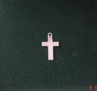Vintage Sterling Silver Crucifix photo