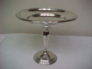 Sterling Silver Watrous Compote Holloware 236 Grams photo