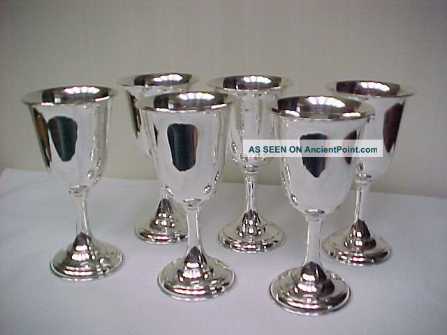 Sterling Silver Wine Cups Goblets Holloware 22 Oz Cups & Goblets photo