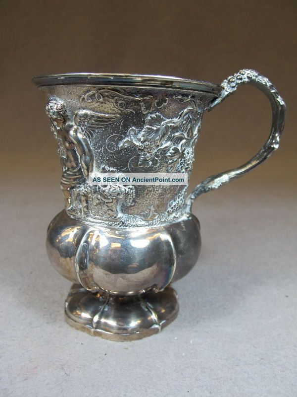 Antique English Sterling Silver Cup,  Circa 1815 As/5136 Cups & Goblets photo