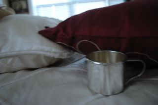 Antique Wallace Sterling Silver Baby Cup photo