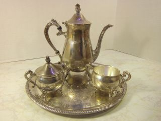 Silver - Silverplate - Tea/Coffee Pots & Sets | Antiques Browser