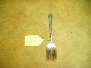 Wm.  A.  Rogers Meat Fork Pattern Marylee photo