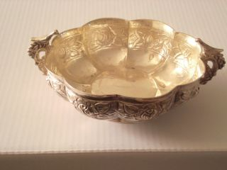 Antique Sanborns Sterling Silver Dish From Mexico photo