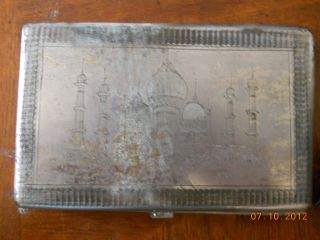 Vintage Silver Cigarette Case photo