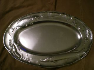 German Sterling 925 Tray Fish Platter photo