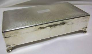 Silver Plate Aristocrat Cigarette Box Thames Hospicecare 109 photo