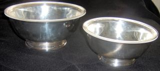Two Gorham Serving Bowls Never photo