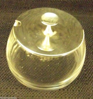 Gorham Sterling Serving Condiment / Honey Pot / Jam Jar - - View All Our Listings photo