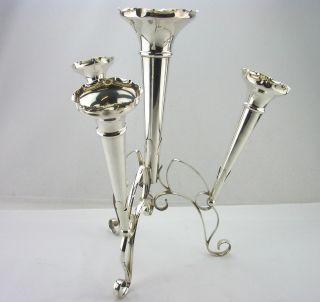 Silver Epergne Sheffield 1912 - 13