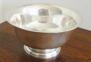 George Jensen Sterling Silver Bowl,  Mint,  See Other Family Pieces Of Silver photo