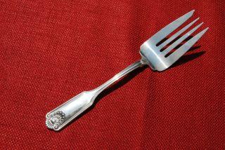 Fiddle Shell (aka Alden) - Towle - Serving Fork - No Mono photo
