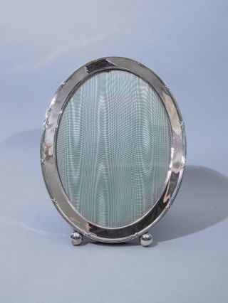 Gorham American Sterling Silver Oval Frame C 1920 photo