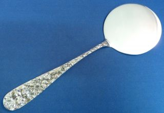 Baltimore Rose - Schofield Sterling Hot Cake Server photo