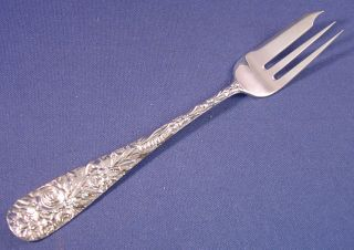 Repousse - Sterling Dessert Fork photo