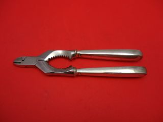 Old Italian By Buccellati Sterling Silver Crab Cracker Shears 7 1/4