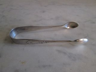 Sterling Silver Sugar Tongs photo