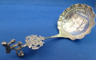 Hanau Sterling Figural Ladle photo