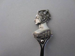 Queen Victoria Sterling Silver Diamond Jubilee Spoon. . .  1837 - 97. . . photo