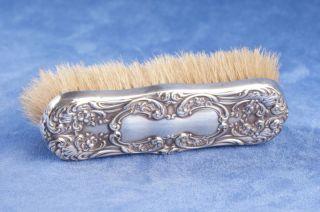 American Brush Sterling Silver Reposse Mount Victorian Sign Hallmark Gorham photo