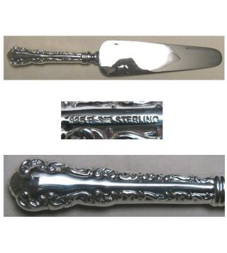 Louis Xv Cake Or Pie Serving Knife Birks Roden Sterling photo
