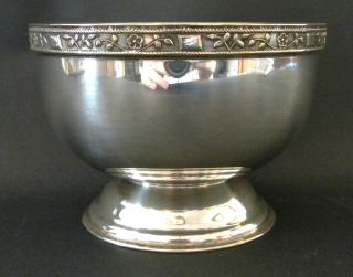 Viners Of Sheffield Silver Plated Bowl photo