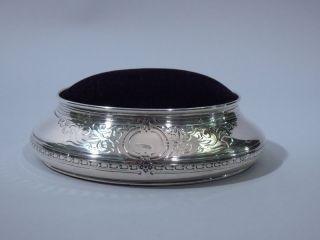 Tiffany American Sterling Silver Pin Cushion C 1915 photo