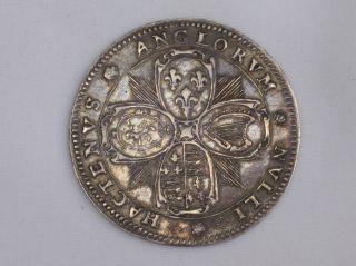 Rare S/ Silver Medal King Charles I Commemorating Birth Future King Charles Ii photo